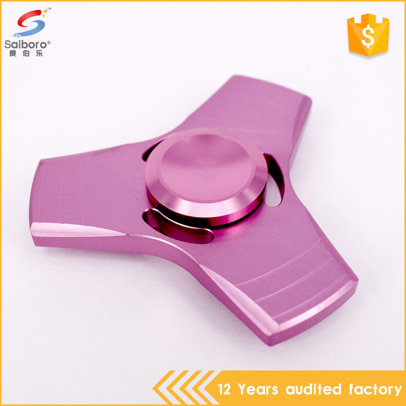 New creative zinc alloy anti stress hand spinner toy guangzhou
