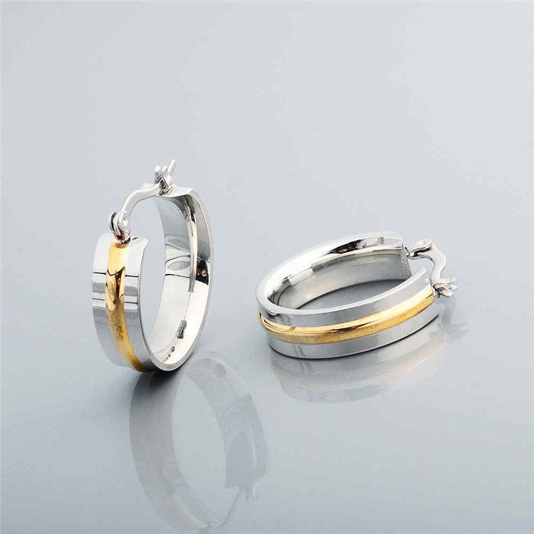 Simple Design Daily Wear Statement Ring Shaped Earrings