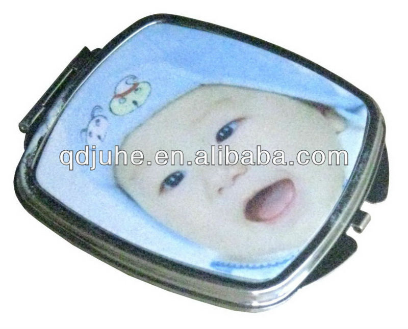 sublimation blank compact handheld mirror