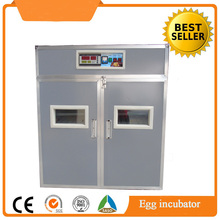 Factory supply 528 eggs automatic hatching machine / chicken egg incubator prices India