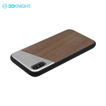 Walnut wood custom slim case for iphone x ladies industrial mobile cell phone covers cases