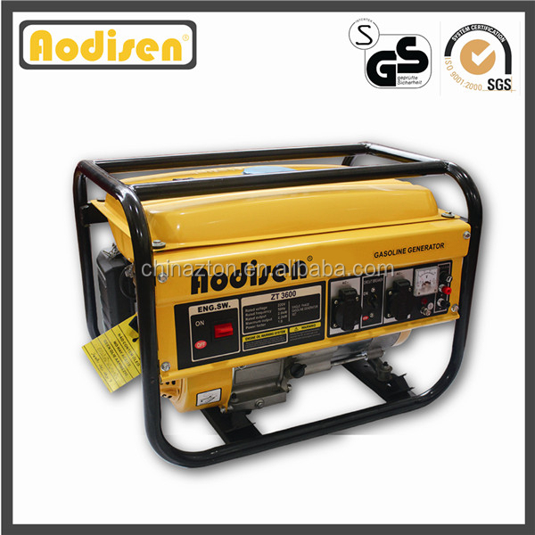 hot sale 2.0kva honda engine, hand start, aluminum alternator, CE approved, Aodisen generator dealers
