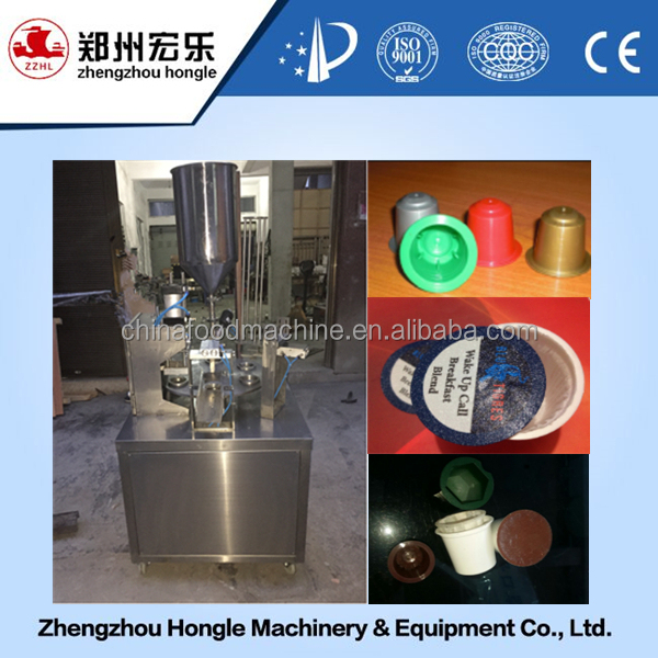 small capacity nespresso capsule filling sealing machine price