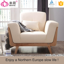 MIHE High Quality Morden Sofa Scandinavian Design Furniture Artistic Leather Sofa