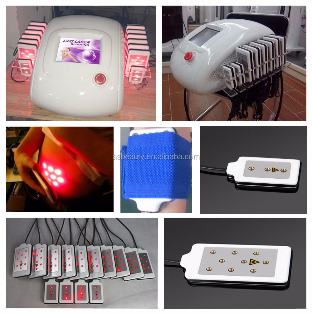 Desktop portable lipo laser slimming machine home use