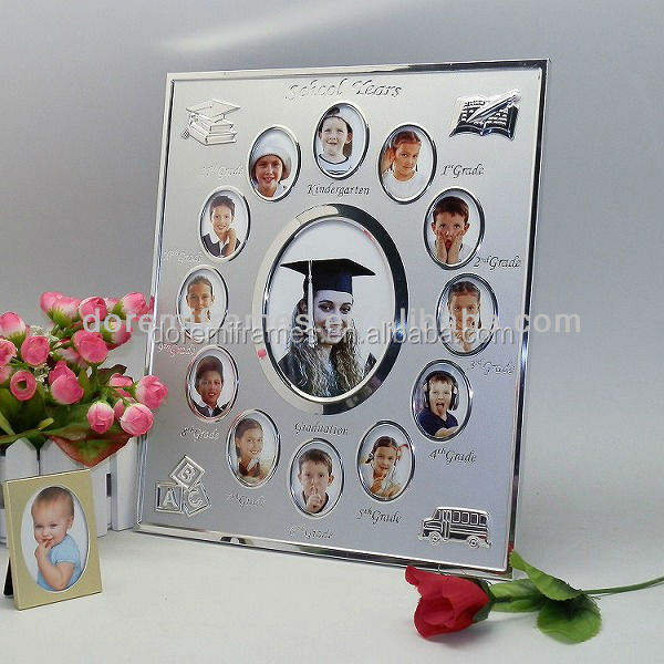 Beautiful home decor for graduate school year memory photo frame