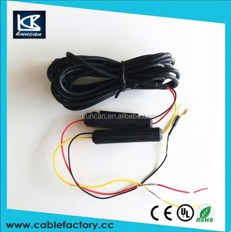 KUNCAN 130w ac electric car inverter cables and wires