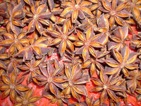 Chinese spice star aniseed whole
