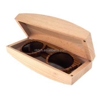 Fashion glasses bamboo wood sunglass box
