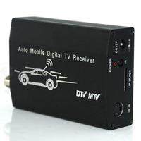 One Seg Auto Mobile TV Tuner MPEG Car Digital TV Receive Box ISDB-T Brasil , Japan , Chile ISDB-T TV Tuner Receiver Box