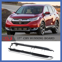 High quality Aluminum Alloy side step/running board for CRV 2017+
