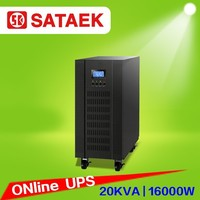 China ups price in Pakistan LCD display online ups 20kva