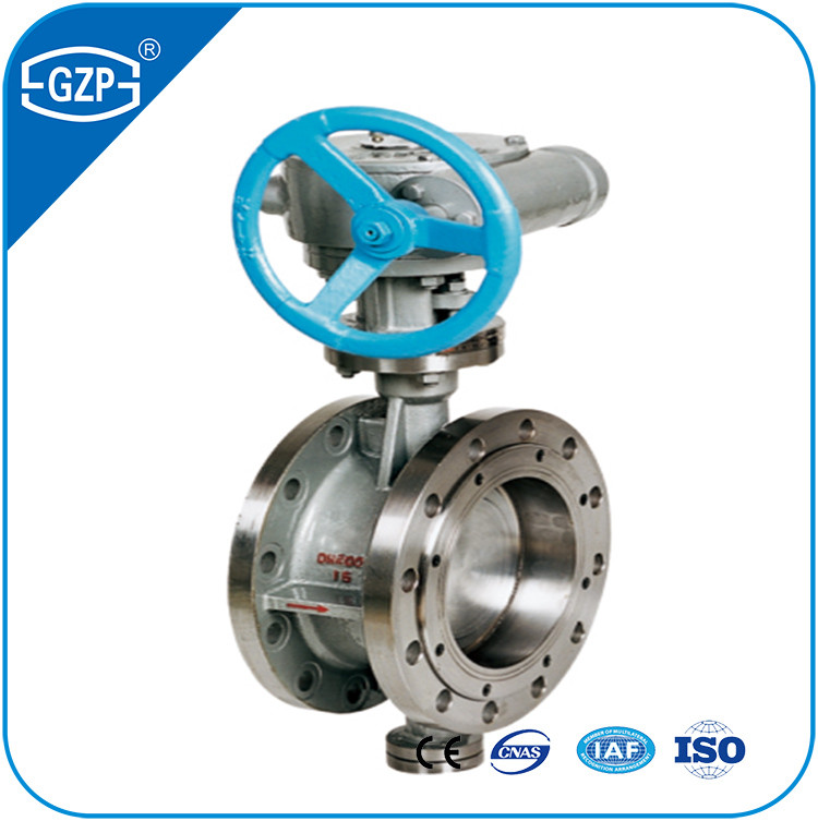 ANSI API DIN BS JIS Standard Carbon steel valve body Flange connection 3inch 4inch butterfly valve