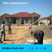 2016 Low cost fiber cement panel for movable house for hot sale