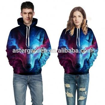 Wholesale Unisex Animal 3D Pullover Hoodies Hooded Sweatshirts With Kangaroo Pockets
