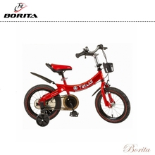 Borita Supply Hot Sale Adjustable Upturned Fender Kid's Bike