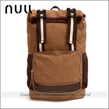 new men's backpack vintage canvas backpack <strong>school</strong>