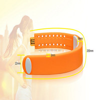 Promotion soft Led touch screen sport ultrathin watch