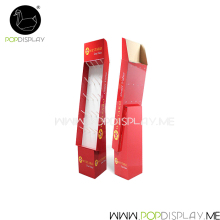 Environmental-friendly Hook Paper Display Hanging Cardboard Product Stand