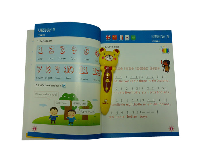 Magic Children smart pen Kids talking pen Smart Point Reading Pen DC011