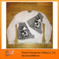 Printed Top Quality Sweatshirts Crew Neck Wholesale Fabric