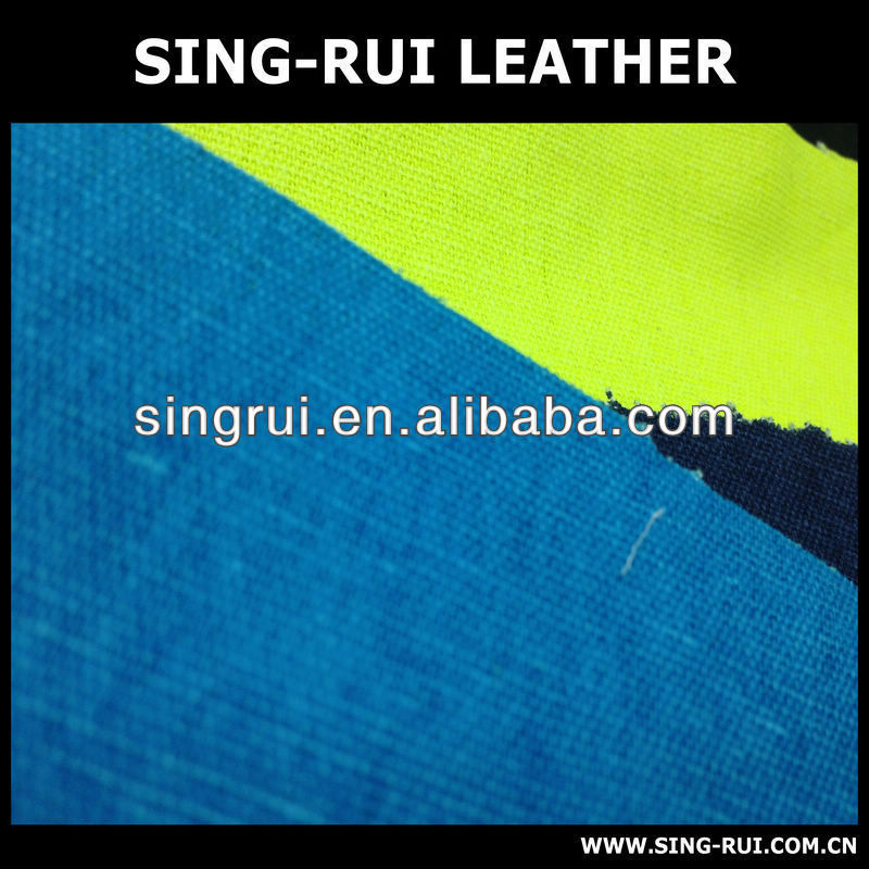 pu synthetic canvas leather to mexico market