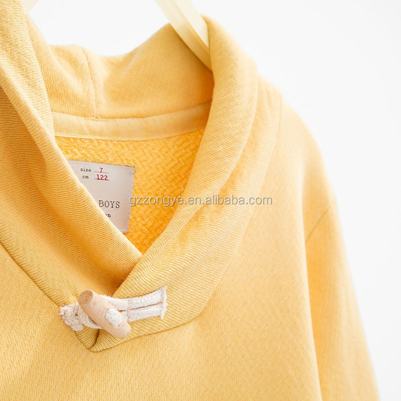 Cotton baby boy sweater designs with toggle and shawl collar