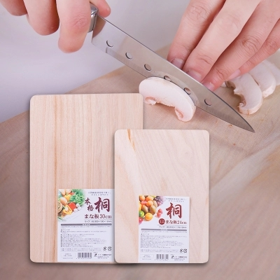 Paulownia Cutting Board Wooden Cheese Cutting Board Fruit Board