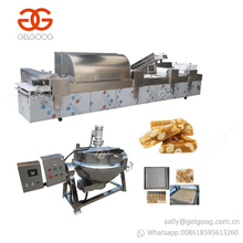 High Efficient Peanut Brittle Making Machine Peanut Bar Production Line Fruits Snack Bar Equipment