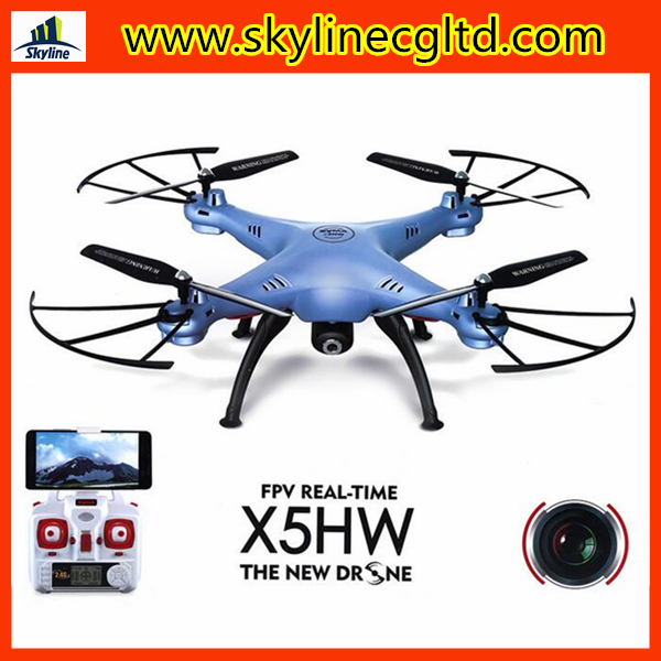 Hot selling FPV RC drone quadcopter SYMA X5HW with HD camera for aerial photography