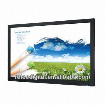 42 inch advertising player with Touch Screen, D525 CPU, 320GB HDD Storage, 4GB RAM,narrow boarder