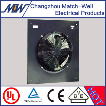 Match-Well axial fans for industrial use