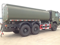 New 6x4 oil tank truck,mobile gas refueling truck,fuel tanker truck for sale