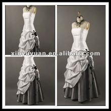Factory-outlet Elegant A-line Taffeta Ruched Evening Dress/ Prom Dress XYY-mal5