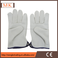 soft sheepskin leather safety work glove