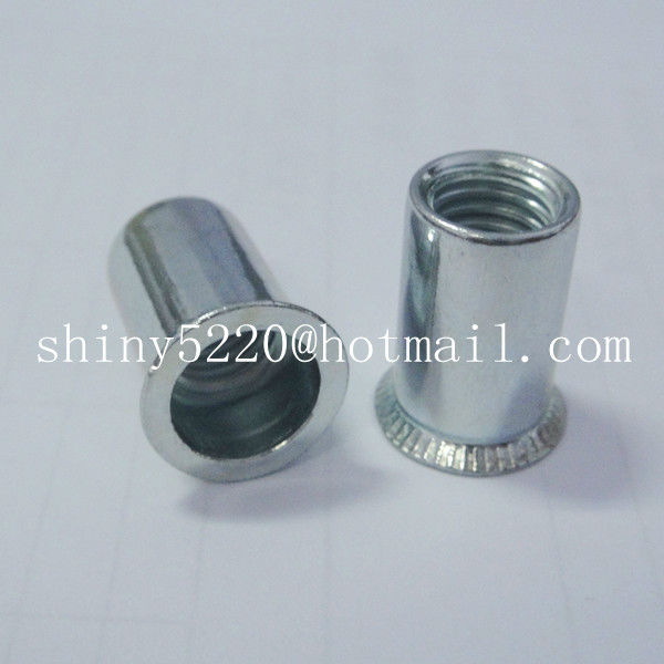 100pcs Flat Head Rivet <strong>Nut</strong> M4 for Railway High Efficiency