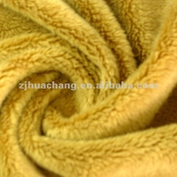 Super Soft Tricot Short Floss Velboa Knitting fabric
