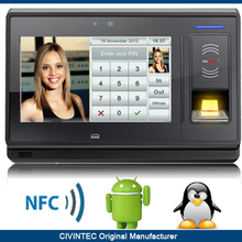 NFC & RFID biometric fingerprint standalone time attendance and access control with TCP/IP, WiFi