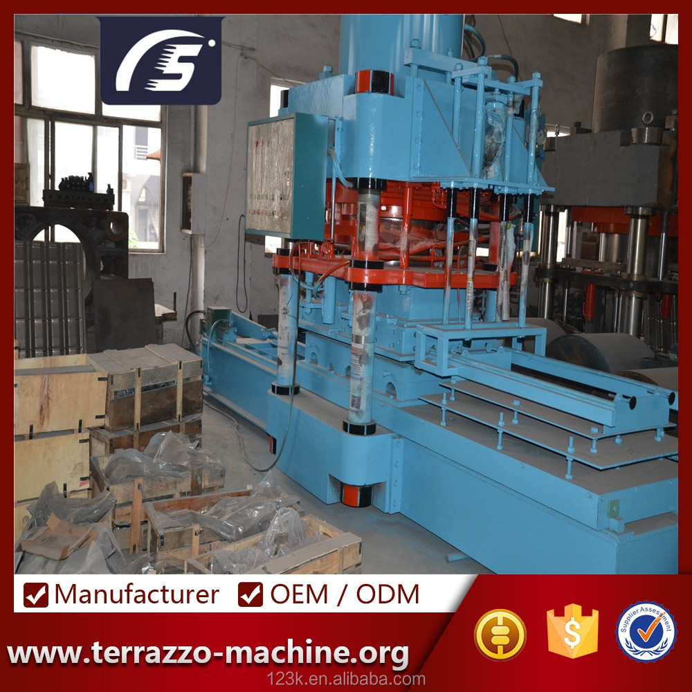 Fast delivery terrazzo brick making machine price heat transfer
