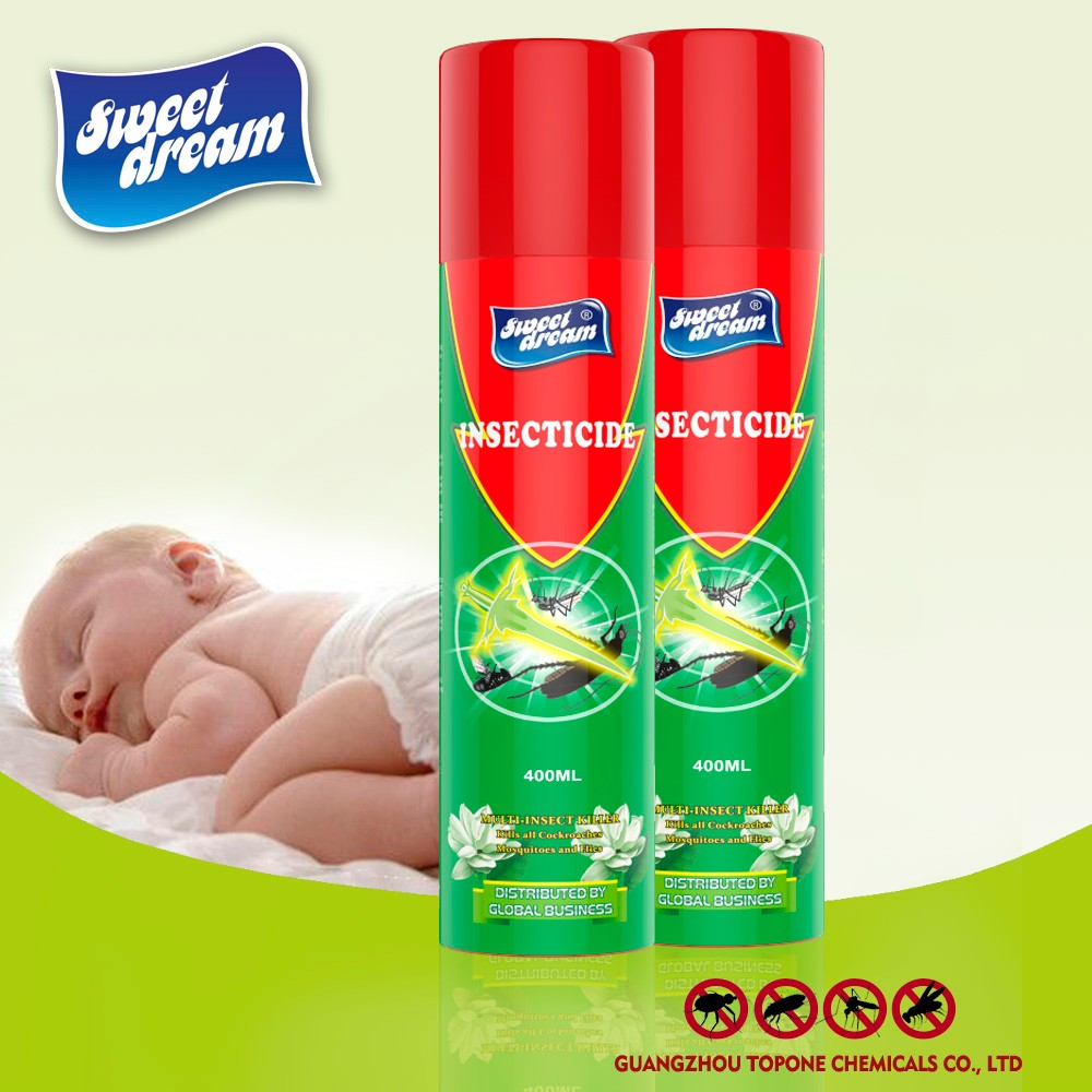 Sweet Dream Brand 400ml Factory Price High Efficiency Mosquito Repellent Spray