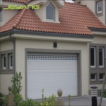 Low price residential high speed roller up sectional garage door