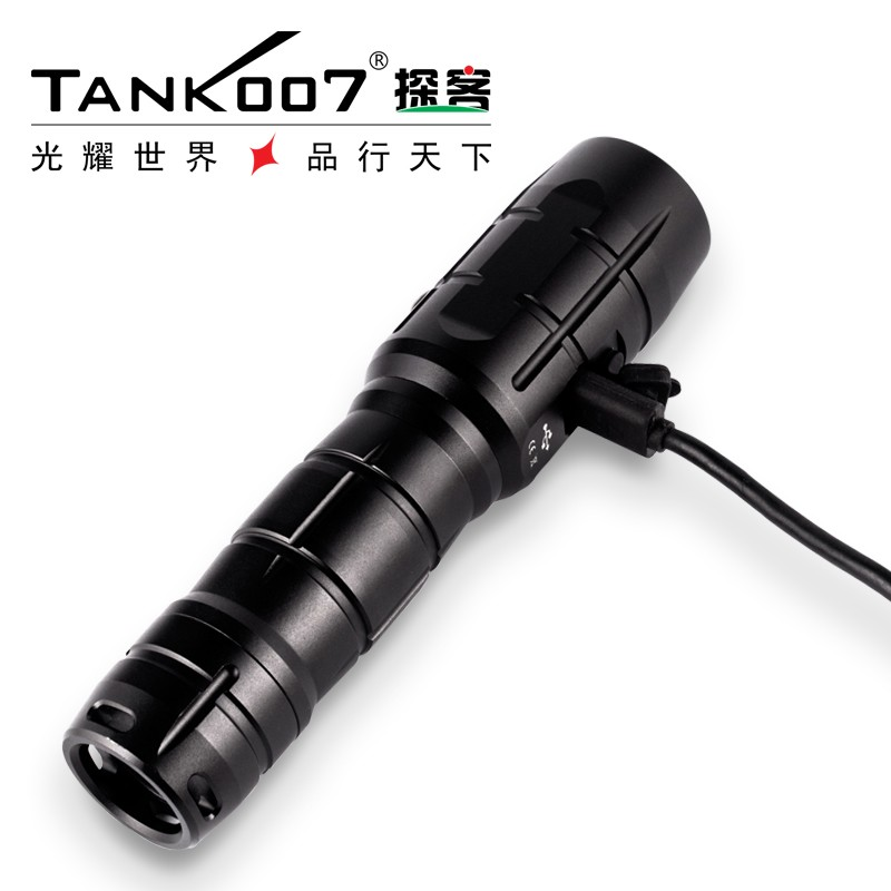 New design led <strong>u2</strong> rechargeable flashlight with usb rechargeable flashlight with <strong>gift</strong> box UC17
