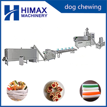 Hot sale high quality dog chew making machine with HM100 single extruder