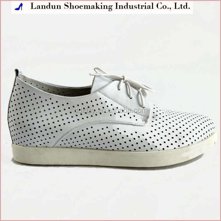 Spring summer EVA rubber women slip on white shoes heels