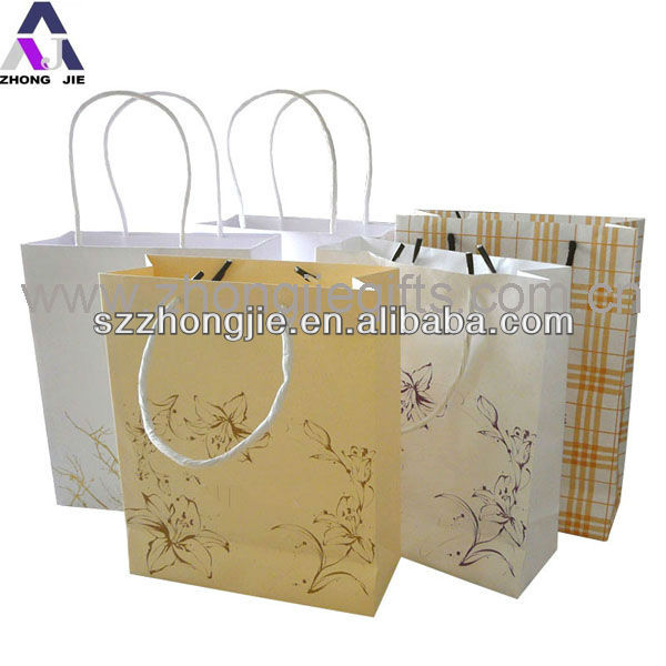 paper bag for gift with handle