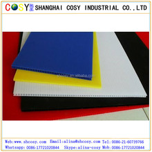 Extruded polypropylene sheet pp hollow plastic core flute sheet/ board