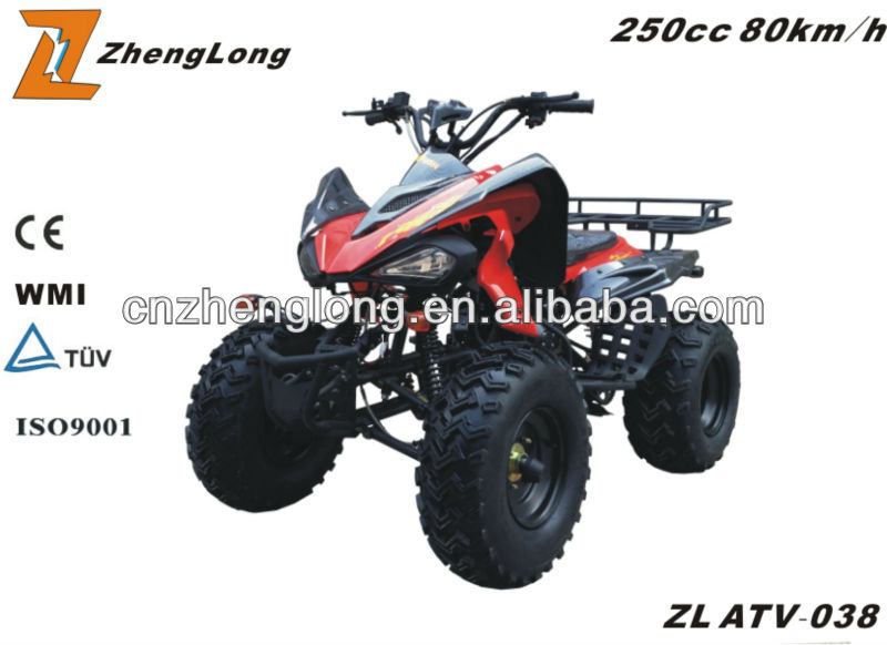 2015 new design zongshen 250cc atv