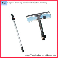 water flow squeegee , window cleaning with telescopic aluminum handle , car window clean brush