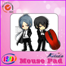 cartoon superheroes mouse mat with photo insert