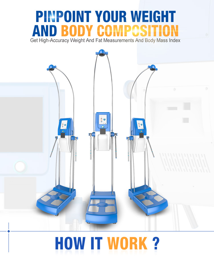 New machine quantum bio-electric body composition analyzer machine